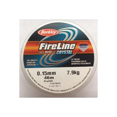 Filo Fireline 0,15 mm Crystal Clear 45 metri